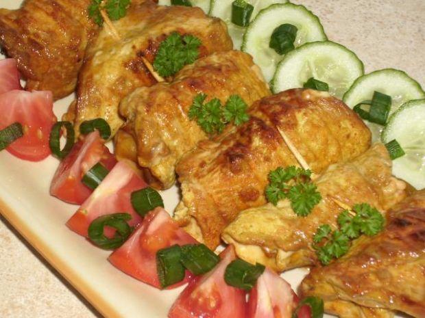 Pierś kurczaka marynowana w sosie sojowy