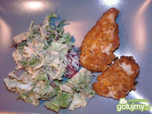 Pierś kurczaka w papryce