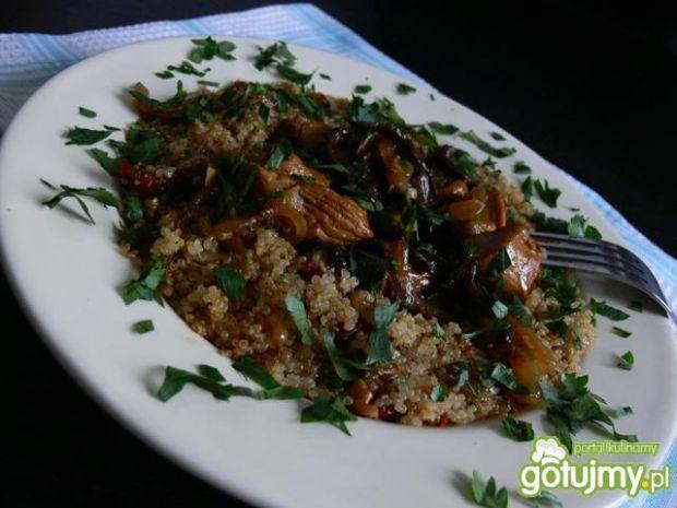 Pierś z indyka z quinoa