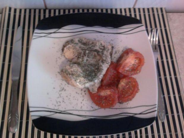 Pierś z kurczaka duszona z pomidorami