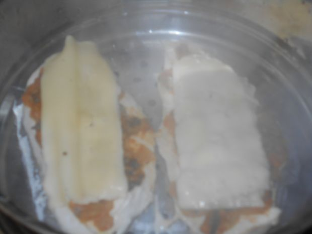 Pierś z kurczaka z bazylią i musztardą