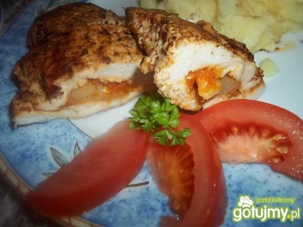 Pierś z kurczaka z pastą adżika 2