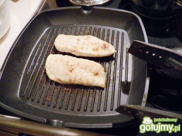 Pierś z kurczaka z ziemniaczanym pure