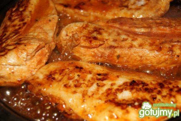 Piersi kurczaka  z patelni grillowej w %