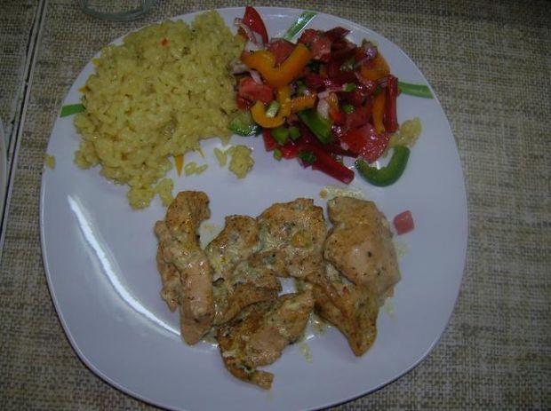 Piersi kurczaka zapiekane z lazurem