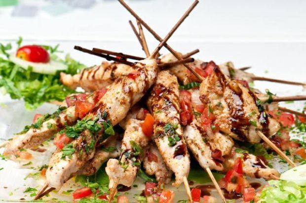 Piersi z kurczaka  a'la kebab