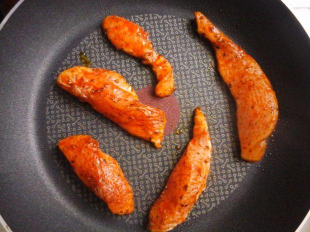 Piersi z kurczaka na ostro