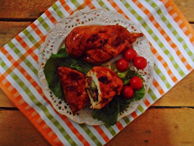 Piersi z kurczaka z sałatą