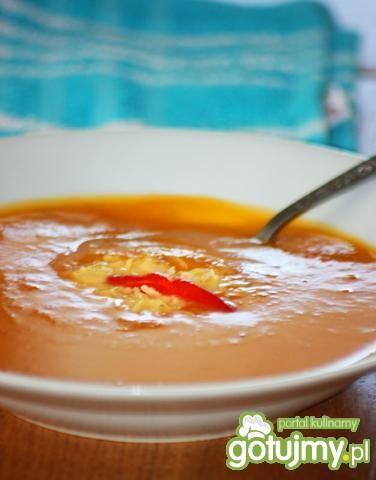 Pikantna zupa krem z batatów