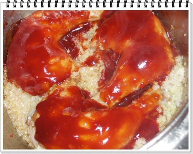 Pikantne keczupowe udka z kurczaka Eli