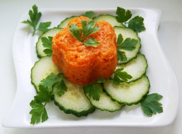 Pikantne puree z marchewki