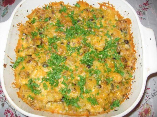 Pikantne smazone ziemniaki z cheddarem