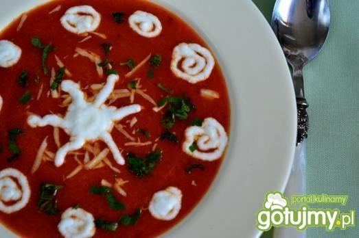 Pikantny krem z pomidorów
