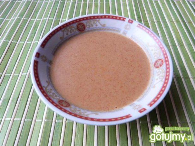 Pikantny sos do mięsa z przyprawą curry