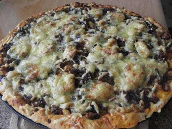 Pizza a la Mexico.