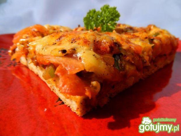Pizza bukiet warzyw