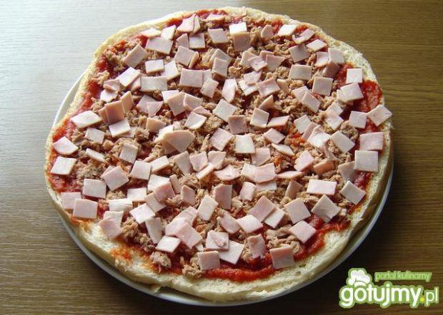 Pizza Domowa na Chlebie Tureckim ( Flade