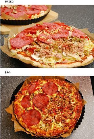 Pizza Domowa na Grubym Cieście