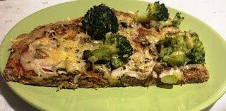 Pizza fit bez drożdży