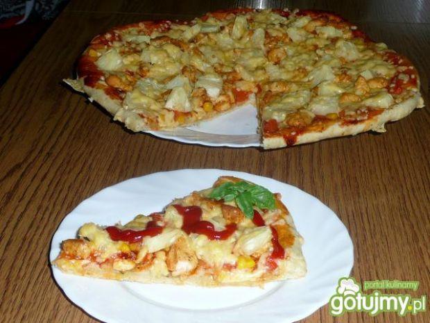 Pizza Hawajska 2