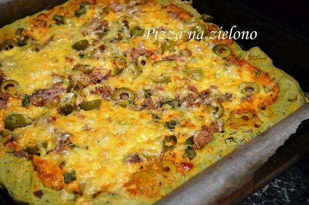 Pizza na zielono