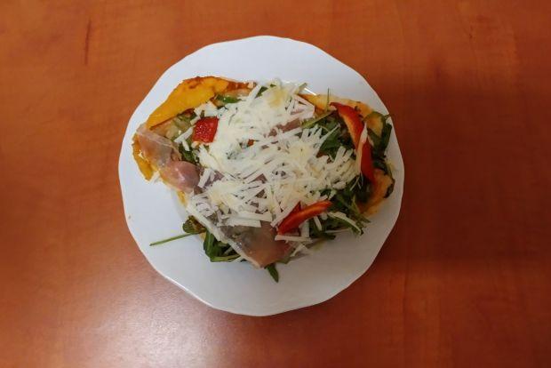 Pizza parma z papryką