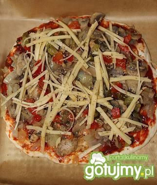 Pizza wegetariańska.
