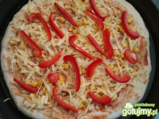 Pizza wegetariańska 3