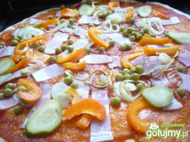 Pizza wiejska cioci Czesi