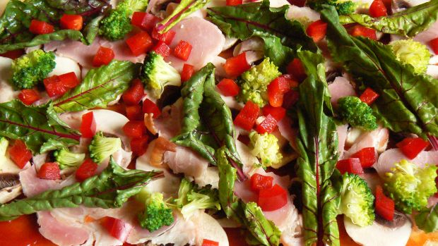 Pizza z botwinką