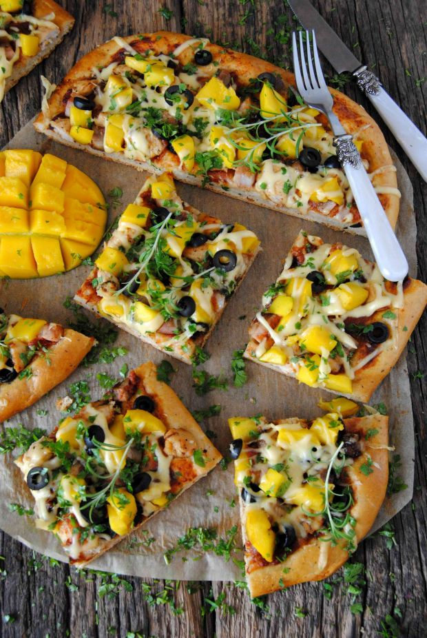 Pizza z mango