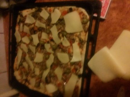 Pizza z mięsem mielonym