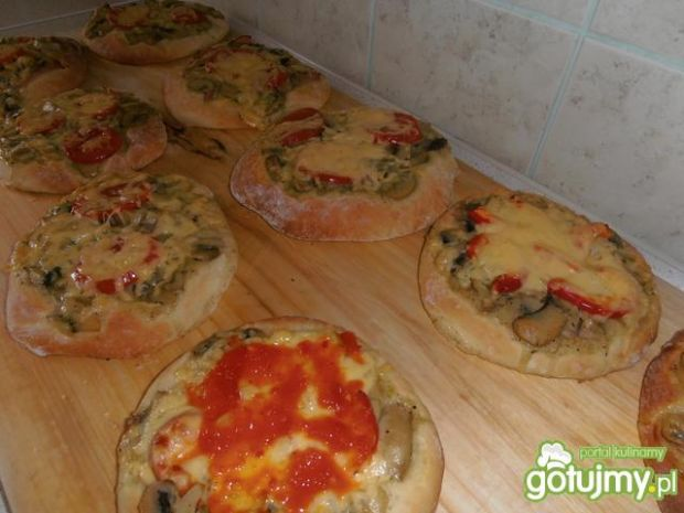 Pizza z pieczarkami wg 2 milutka