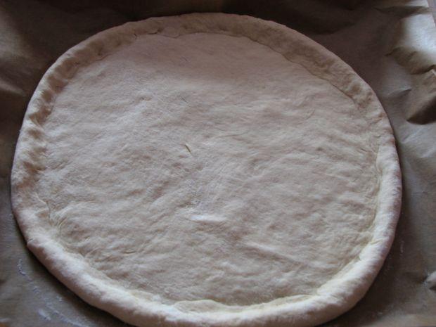 Pizza z  salami