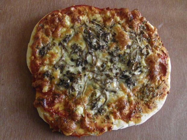 Pizzerinki z mozzarellą i pieczarkami