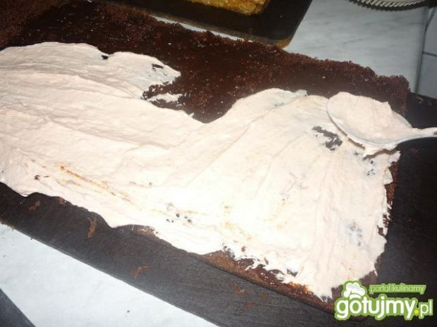 Placek czekoladowy z masą