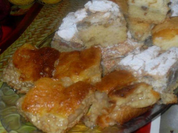 Placek kokosowo - jabłkowy