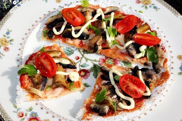 Placek z tapioki a'la pizza