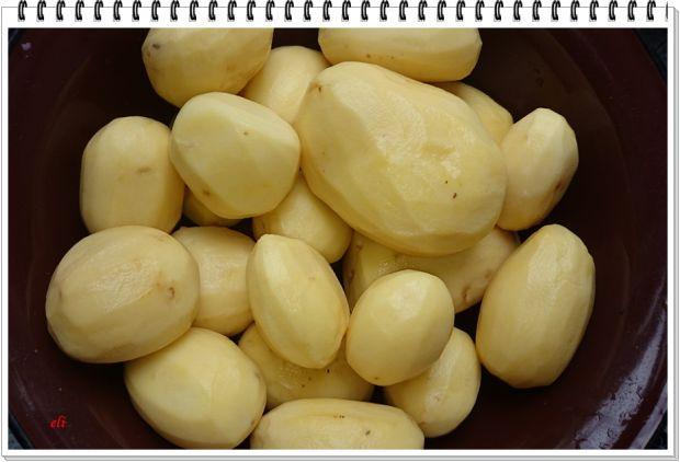 Placki Eli z młodych ziemniaków z niespodzianką