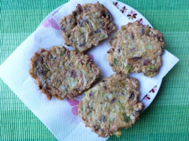 Placki warzywno-mięsne