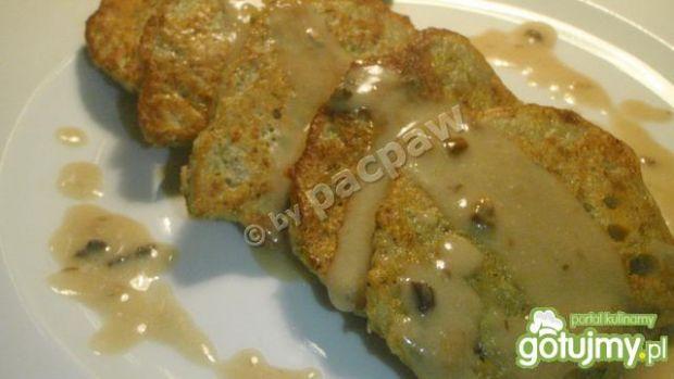 Placki ziemniaczane pieczarkowo-kaparowe