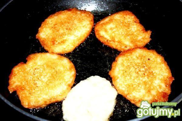 Placki ziemniaczane z mąką kukurydzianą