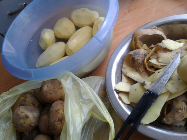 Placki ziemniaczane z nowych ziemniaków