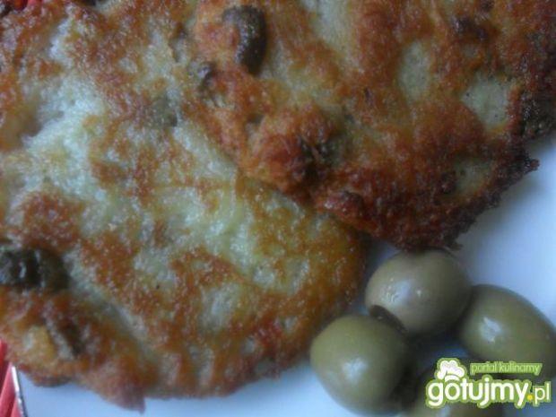Placki ziemniaczane z oliwkami