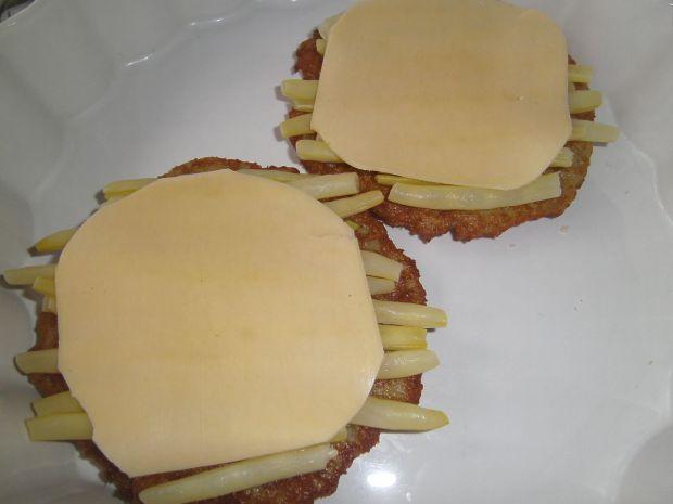 Placki ziemniaczane zapiekane z fasolką i serem