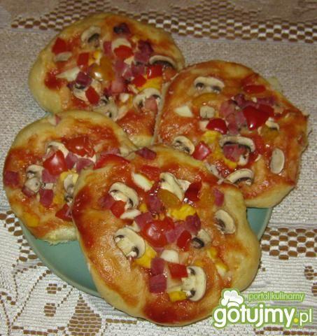 Placuszki a'la pizza