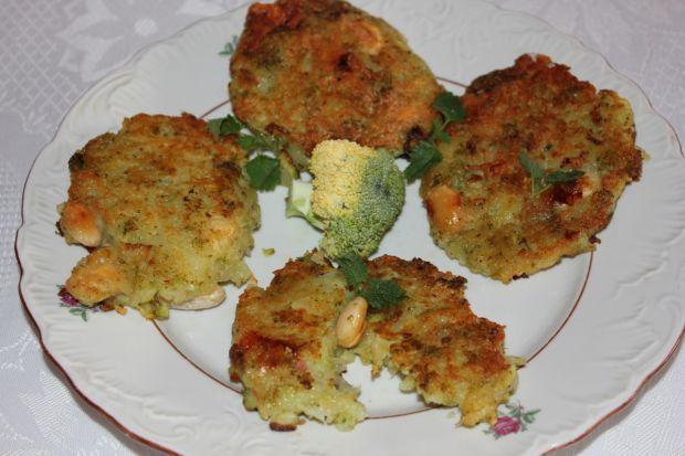 Placuszki brokułowo-ziemniaczane
