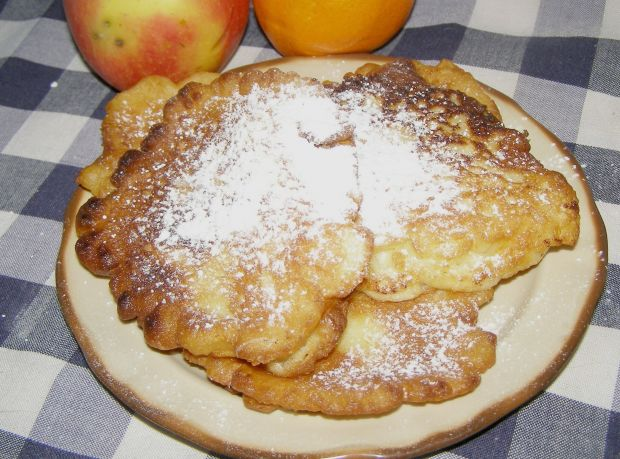 Placuszki jablowe z nutą pomarańczy