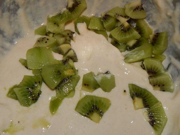Placuszki kefirowe z kiwi