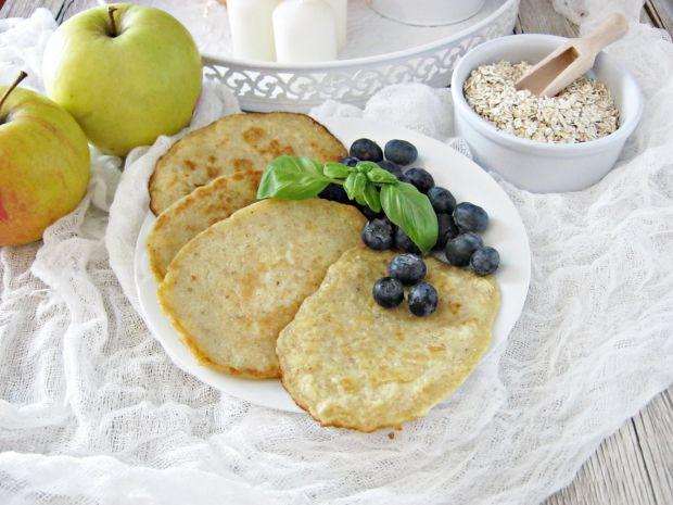 Placuszki owsiane z jabłkiem